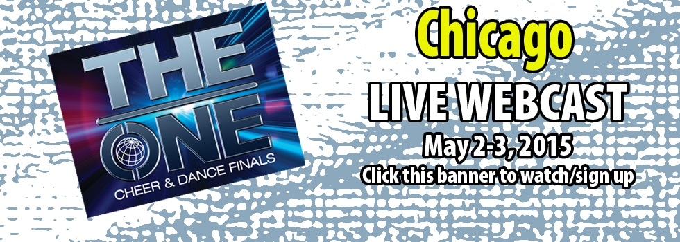 The ONE Cheer & Dance Finals CHICAGO Live Webcast