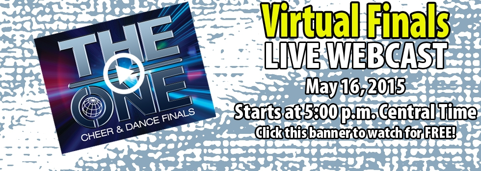 2015 The ONE Cheer & Dance VIRTUAL FINALS Live Webcast
