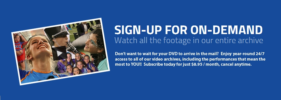 Click this banner to sign up now for Video on Demand!!