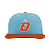 2021 Orange Baseball Team Hat by Zephyr (Baby Blues)