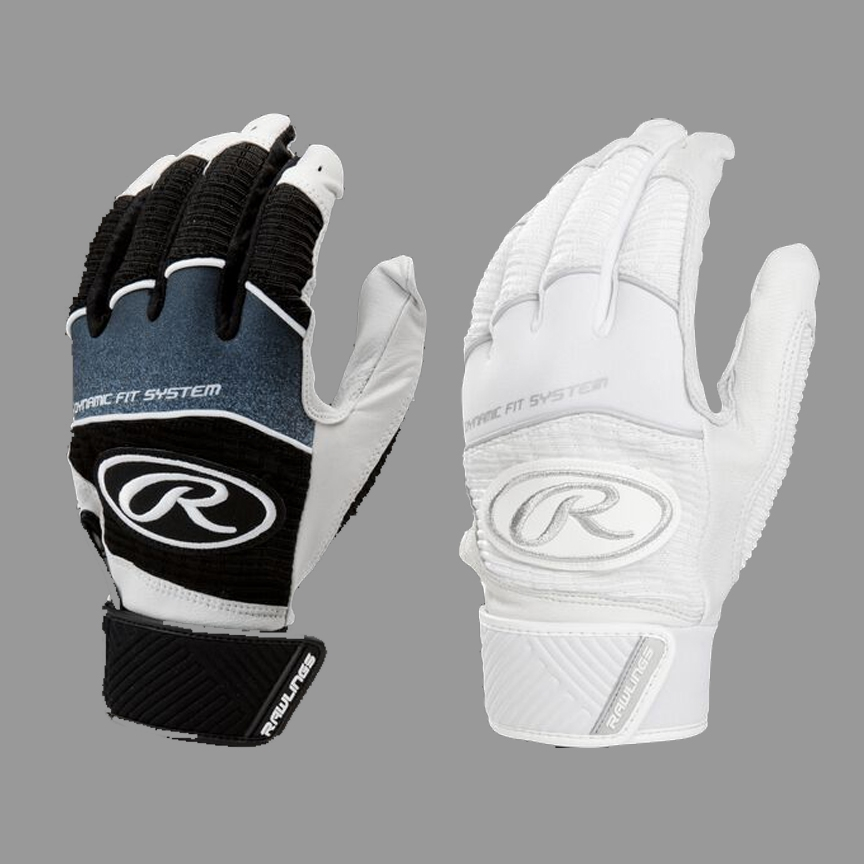 Rawlings Workhorse Batting Glove (Youth and Adult, 2 Colors)