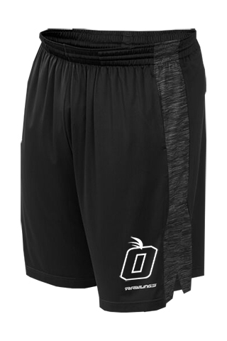 Orange Baseball Training Shorts by Rawlings (2 Color Choices)