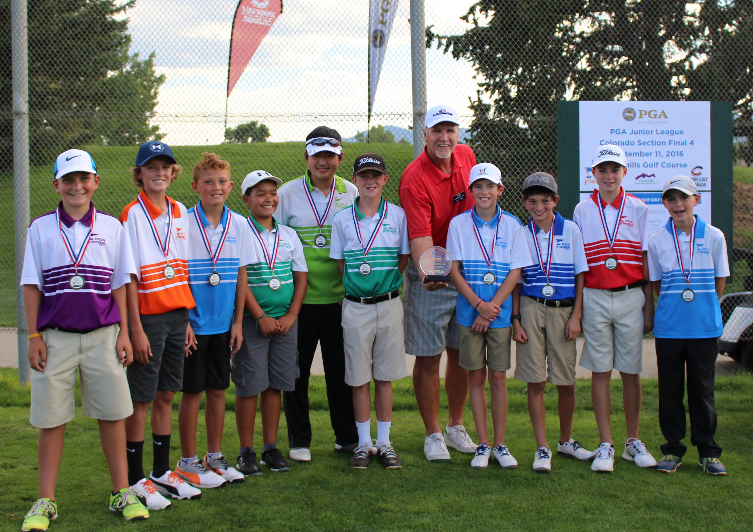 Denver South All Stars Win Colorado PGA Junior League Championship