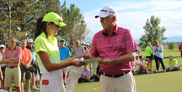 Join 3-time US Open Champion Hale Irwin on Sunday!