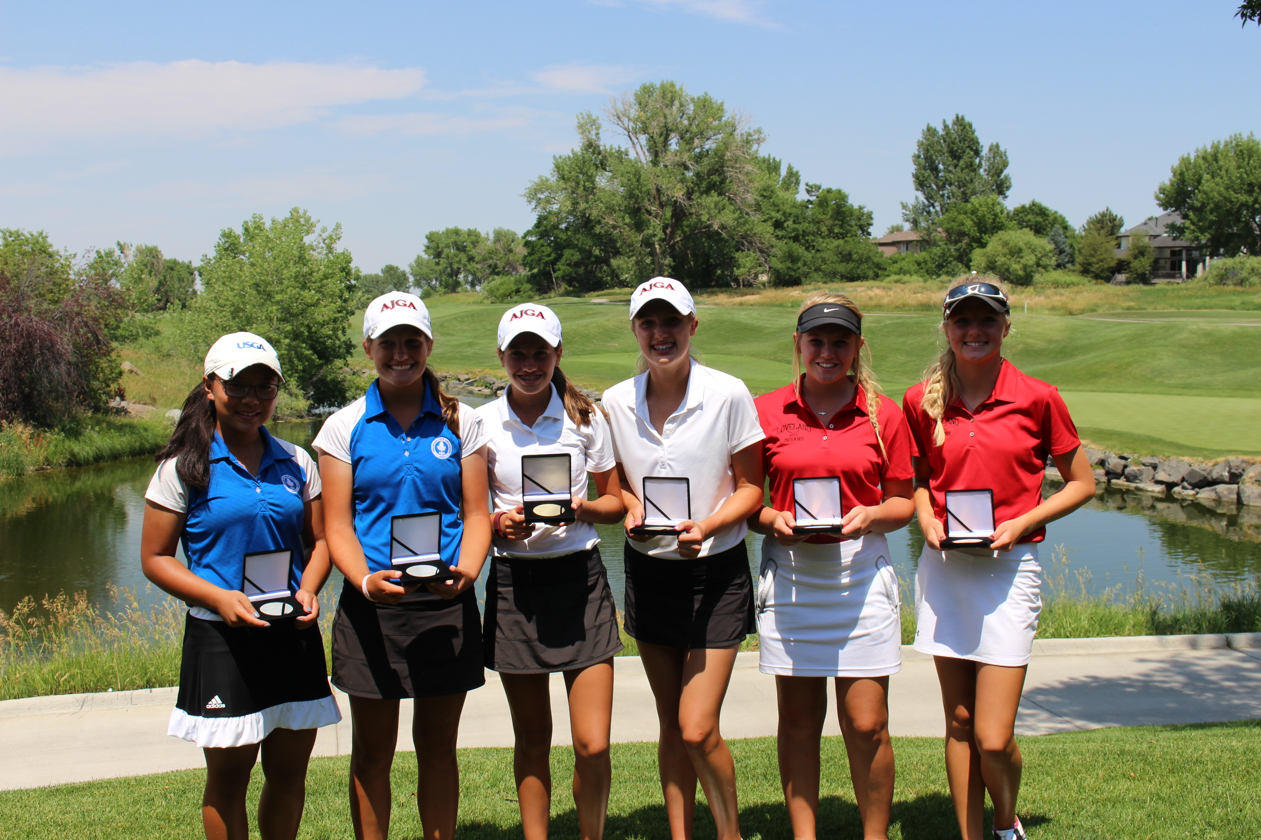 High Temps and Low Scores at JGAC Team Event