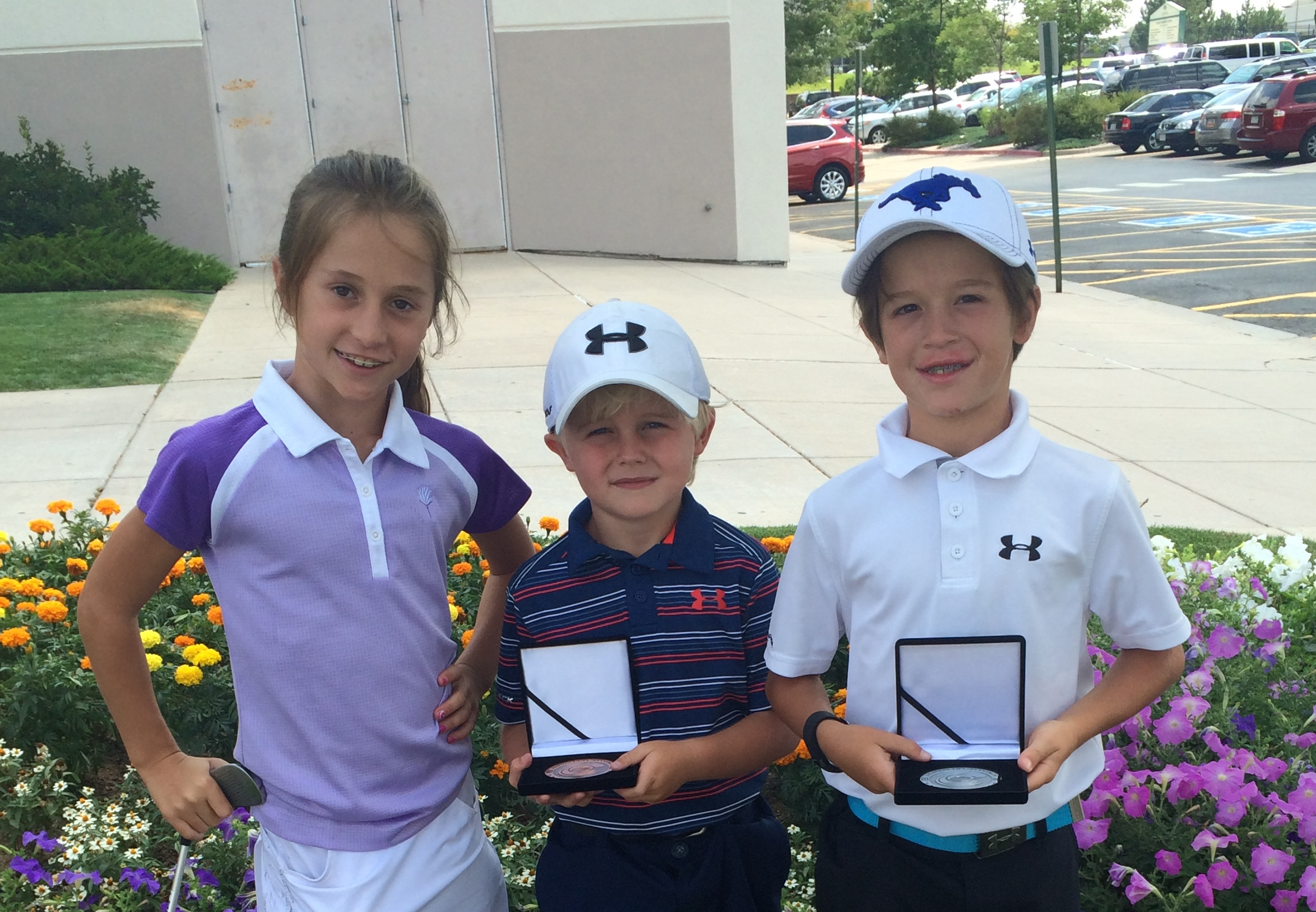 10 & Under in Action at Family Sports GC