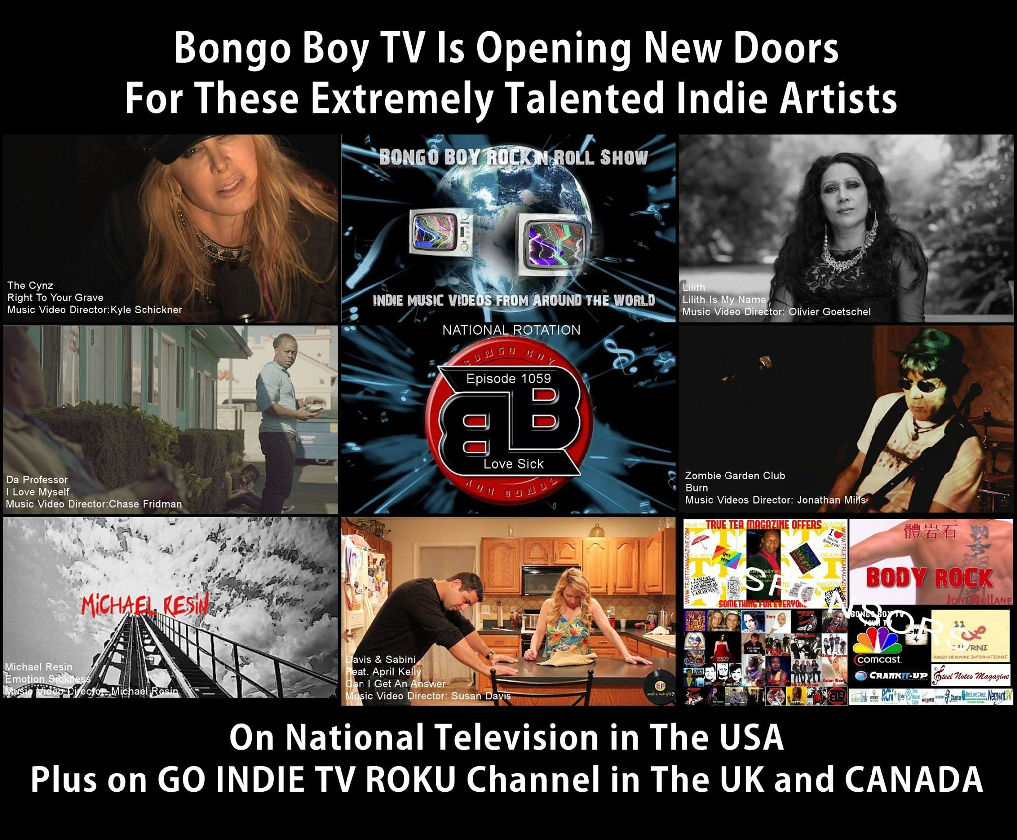 BONGO BOY RECORDS and GO INDIE TV IS LOOKING FOR YOU