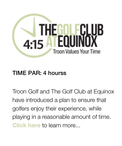 The Golf Club At Equinox