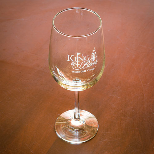 Sterling Cut Wine Glass - King & Bear