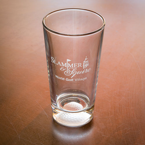 Sterling Cut Pint Glass - Slammer & Squire