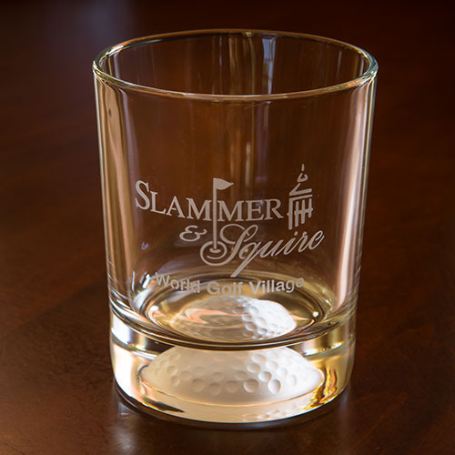 Sterling Cut Rocks Glass - Slammer & Squire
