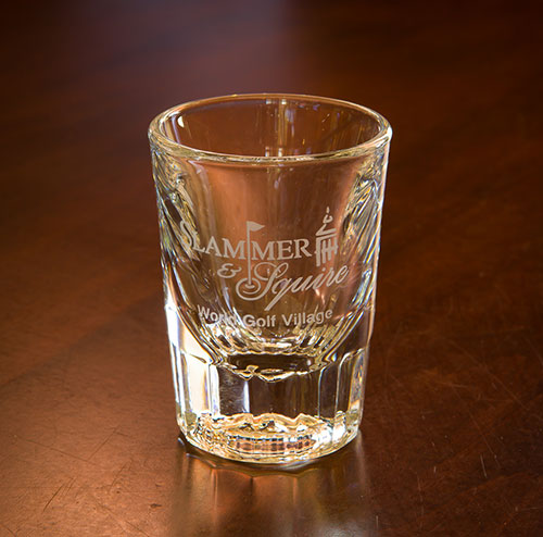 Sterling Cut Shot Glass - Slammer & Squire