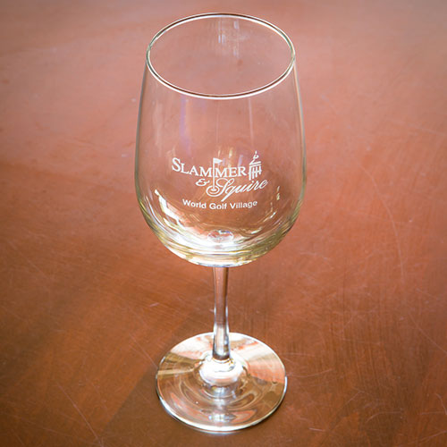 Sterling Cut Wine Glass - Slammer & Squire