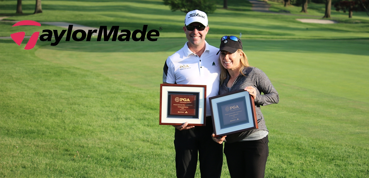 W Pro Assistant Champions Rob Labritz and Debbie Doniger