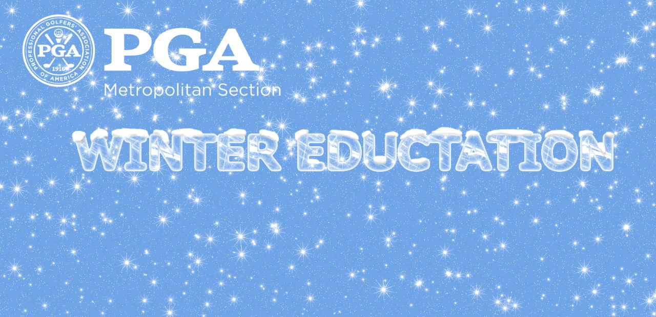 Winter Education Schedule