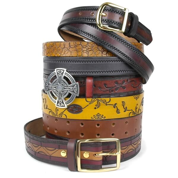 Tooled/Embossed Belts