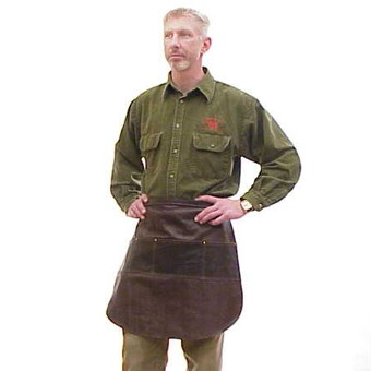 Pocketed Half Apron