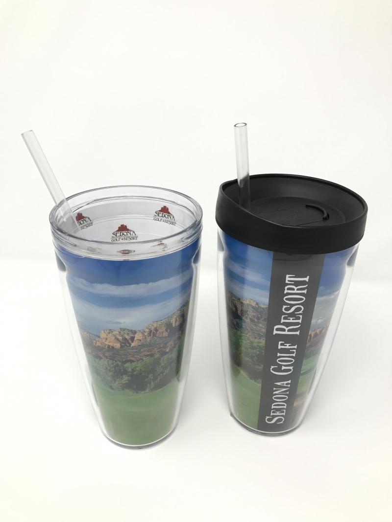 Tumblers featuring our panoramic golf course