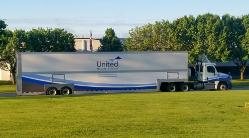 UHS Double Decker Truck and Trailer