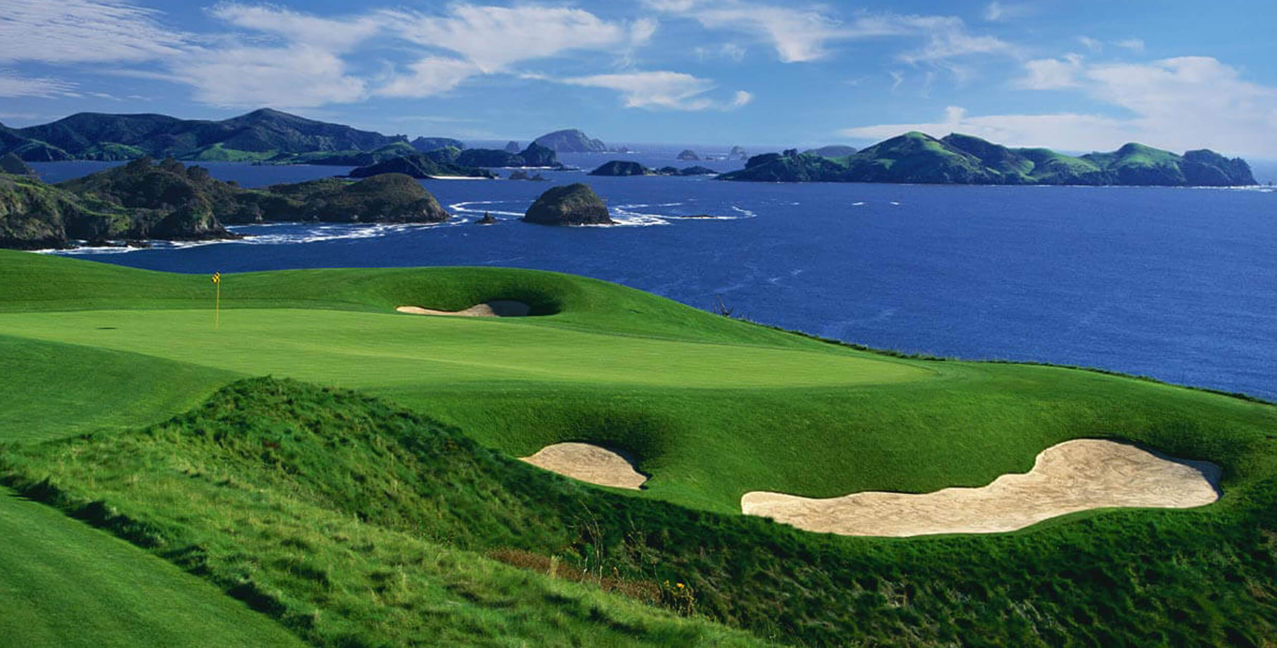 Golfing New Zealand North Island