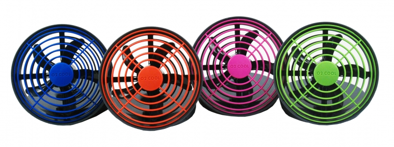 5-inch Portable Fan - 3 possible power sources