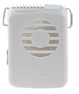 • hands-free cooling with powerful vertical airflow