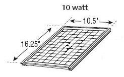 10-watt Gable Mounted Solar Attic Fan