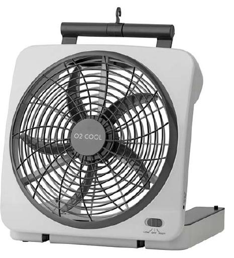 10-inch Battery Operated Fan