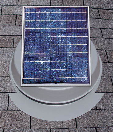 20-watt Roof Mounted Solar Attic Fan
