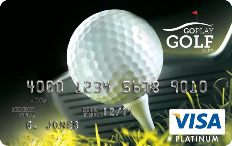 Earn Free Golf with the Go Play Golf Visa