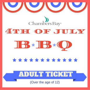 4th of July BBQ - Adult