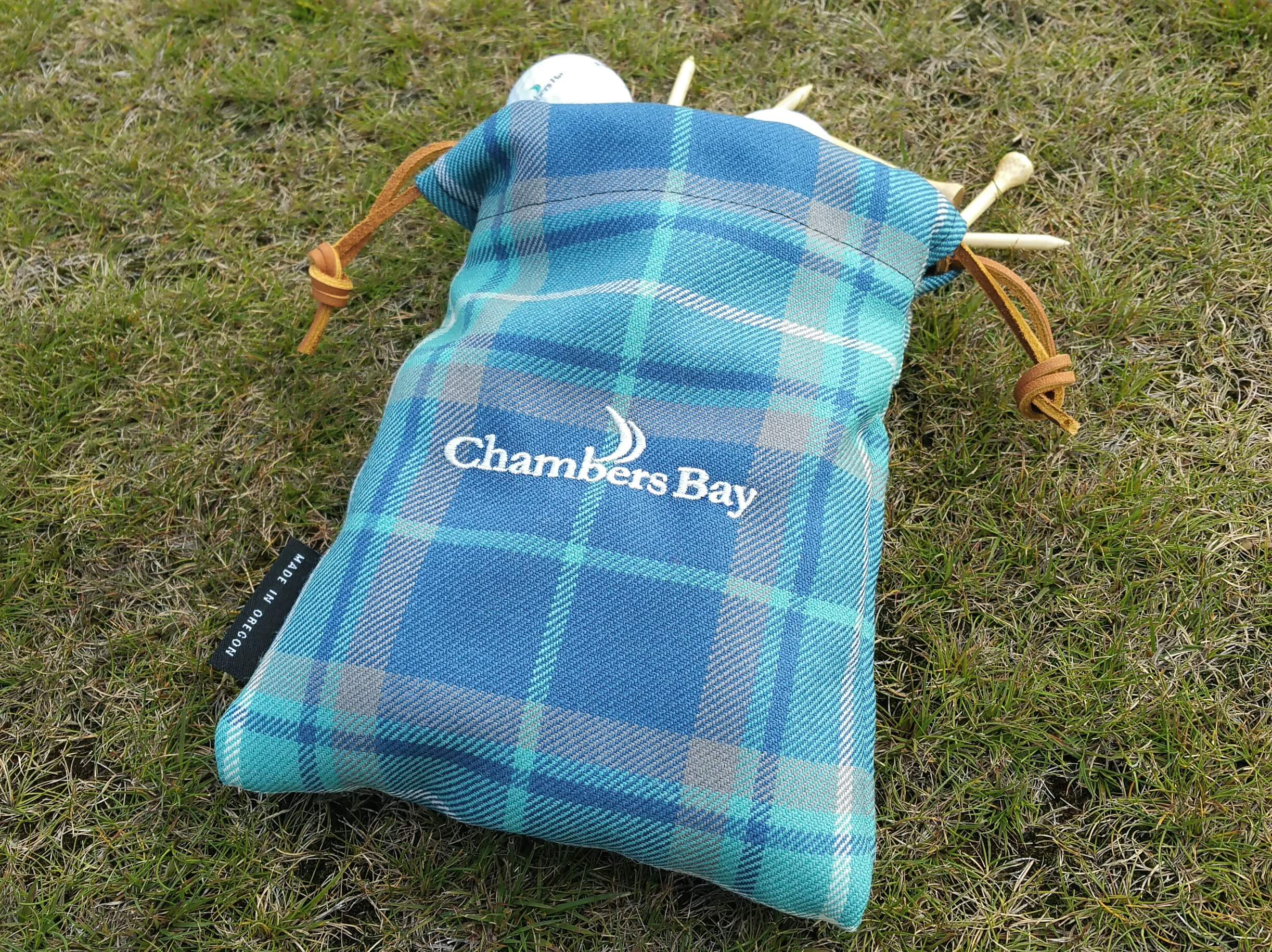 Valuables Pouch - Chambers Bay Tartan