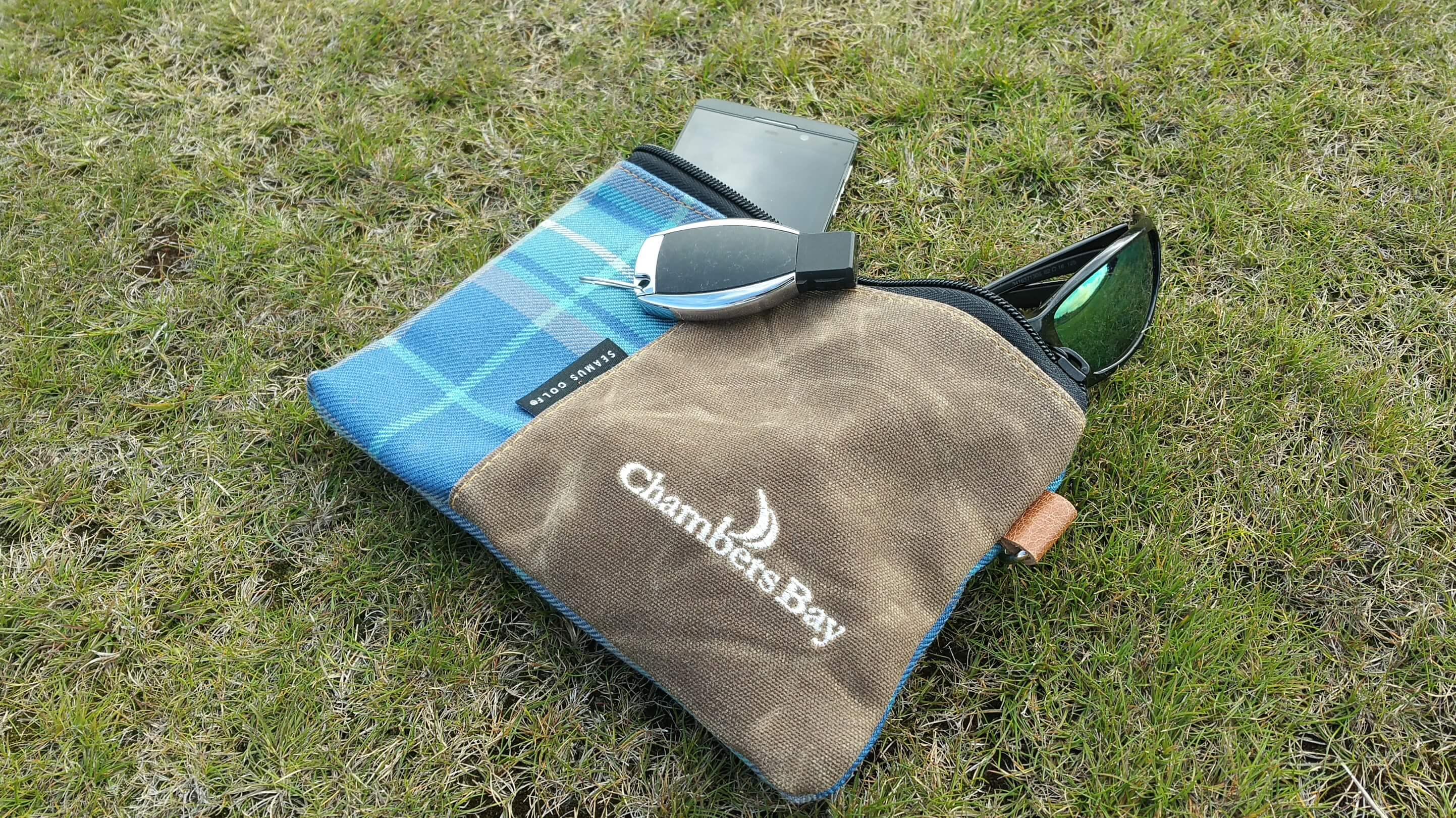 Zippered Pouch - Chambers Bay Tartan