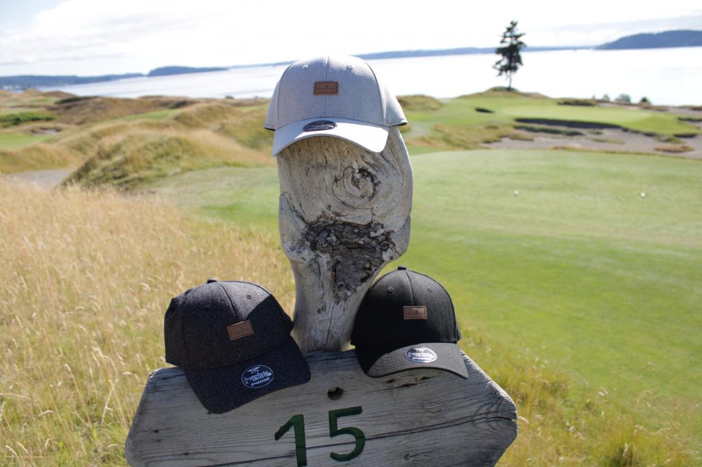 Chambers Bay Logo Hat w/ Leather Patch