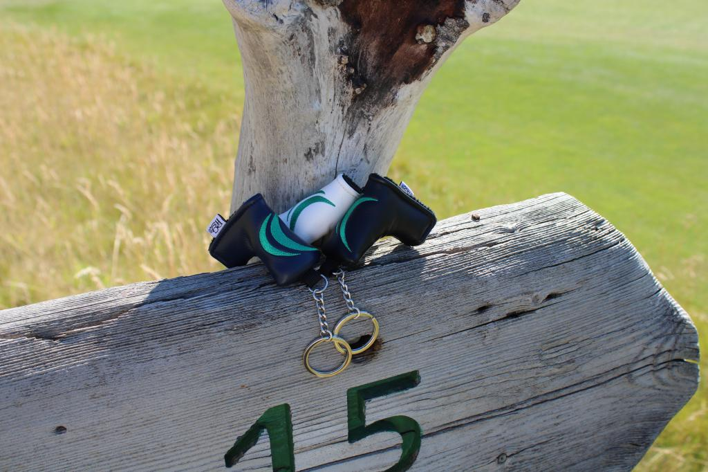 Mini Putter Cover Keychain