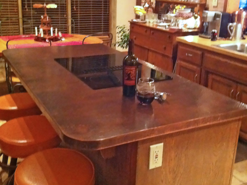 Pin Copper Top On Kitchen Island on Pinterest