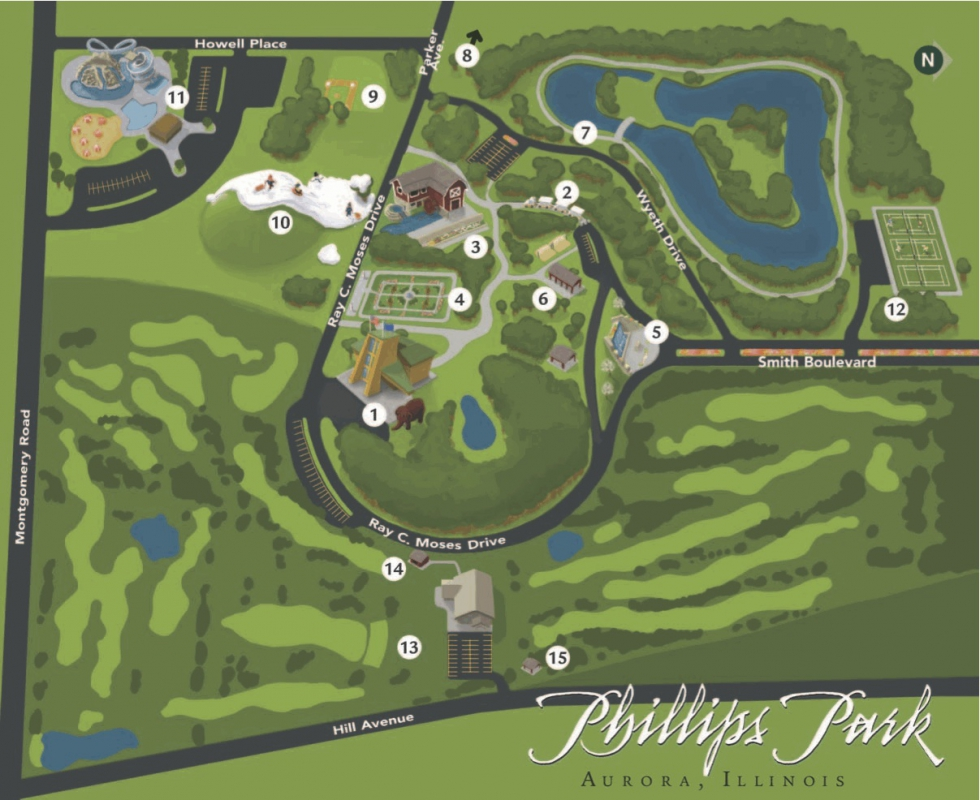 Aurora, IL - Phillips Park Golf Course