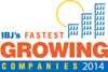 IBJ Fastest Growing Award Logo