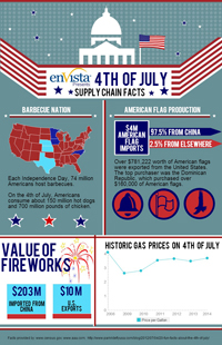 Fourth of July 2014 Infographic