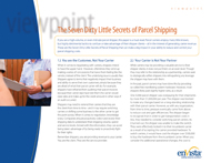 Download: The Seven Dirty Little Secrets of Parcel Shipping
