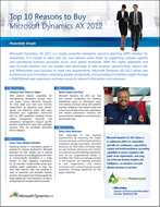 Download: Top 10 Reasons to Buy Dynamics AX