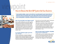 Download: How to Choose the Best ERP System for Your Business