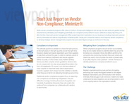 Download: Don't Just Report on Vendor Non-Compliance, Minimize It