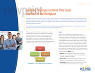 Download: Enabling Employees to Meet Their Goals and Excel in the Workplace