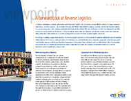 Download: A Forward Look at Reverse Logistics