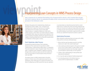 Download: Incorporating Lean Concepts in WMS Process Design