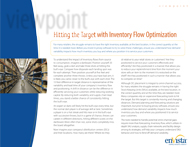 Download: Hitting the Target with Inventory Flow Optimization Whitepaper