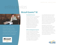 Download: Microsoft Dynamics® AX Brochure