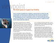 Download: The Oracle Speaks on Supply Chain Visibility