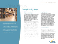 Download: Strategic Facility Design Brochure